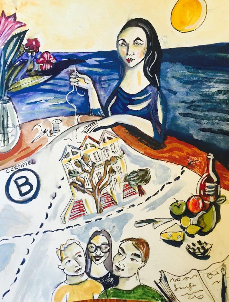 anna colibri, alison wong, illustrator, writer, digital marketer, san francisco